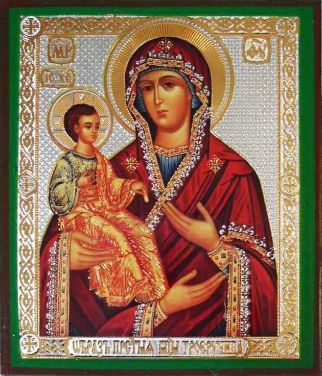 Three Hands Mother of God icon
