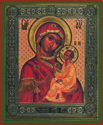 Tikhvin Mother of God icon