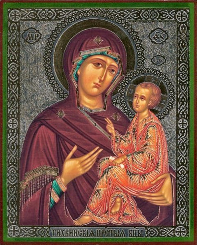 Tikhvin Mother of God new