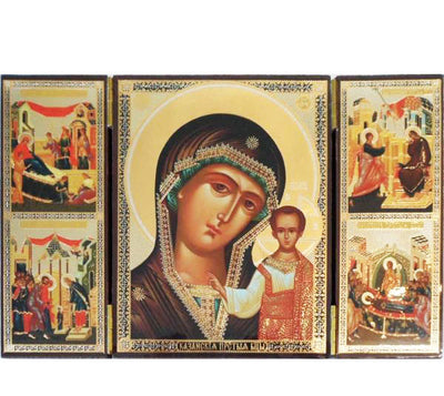 Kazan Mother of God Triptych001