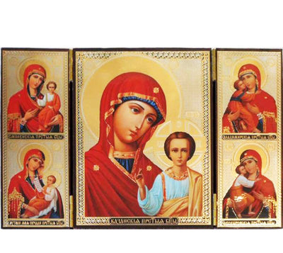 Kazan Mother of God Triptych006