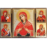 Seven Arrows Mother of God Triptych007