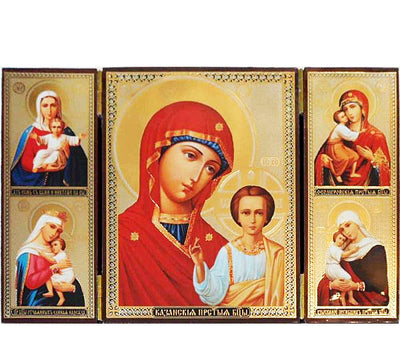 Kazan Mother of God Triptych011