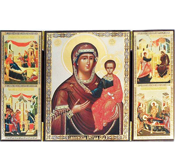 Smolensk Mother of God Triptych015