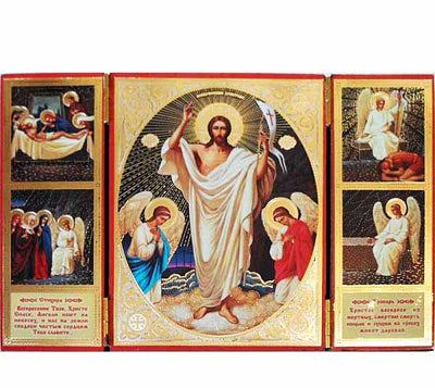 Resurrection of Christ Triptych017