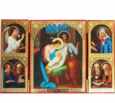 Nativity of Christ Triptych 022
