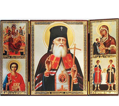 Luke Archbishop of Crimea and Simferopol Triptych026