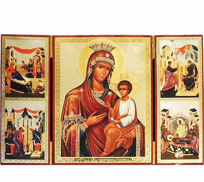 Quick to Hear Mother of God Triptych027