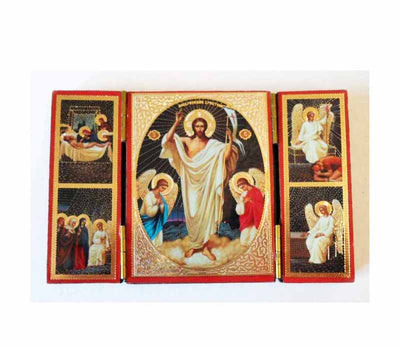 Resurrection of Christ TriptychSmall001