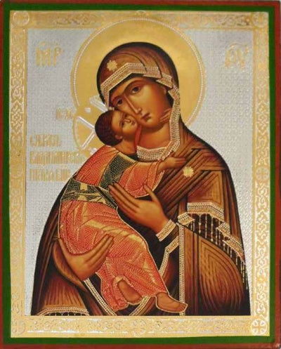 Vladimir Mother of God Byzantine
