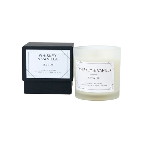 Whiskey & Vanilla Candle