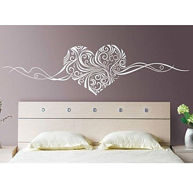 Abstract Still Life Romance Fashion Florals Wall Stickers Plane Wall  Stickers Decorative Wall Stickers, Vinyl Home Decoration Wall Decal