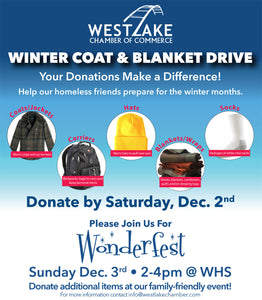 Winter Coat Drive now through December 2nd