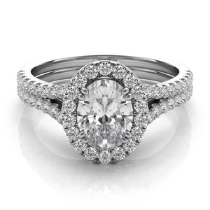 Five Star Jewelry Oval Diamond Engagement Ring