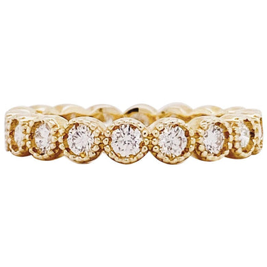 Diamond Bubble Eternity Band