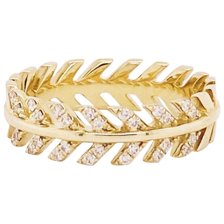 Diamond Palm Leaf Band