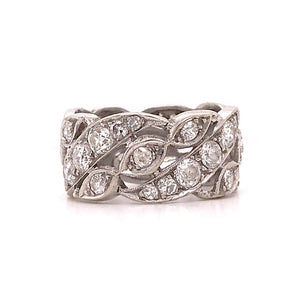 Diamond Custom Diamond Eternity Band, Estate Piece