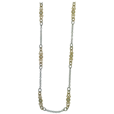 Diamond White Gold Diamonds Necklace