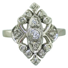 Diamond Vintage Estate Engagement Ring