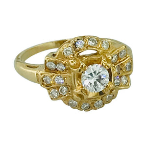 Diamond Vintage Estate Ring