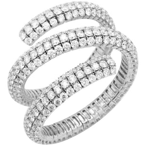 Diamond Wrap Bracelet