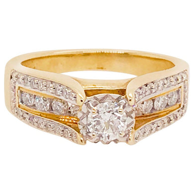Diamond Ring with Round Brilliant Diamond