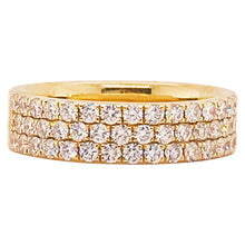 Diamond Pave 1/2 Band