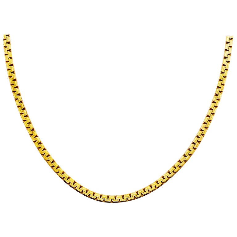 Box Chain/Zipper Chain