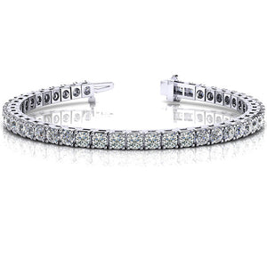 Diamond Tennis Bracelet in 14k Gold