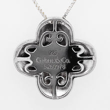 Gabriel Diamond Cross Pendant in Sterling Silver