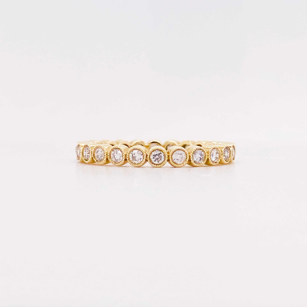Diamond Bubble Eternity Band - Mini