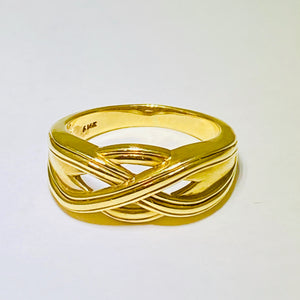 Gold Celtic Knot Ring