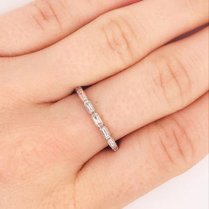 Baguette Diamond Band Ring