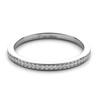 1/2 Diamond Band in 14k Gold