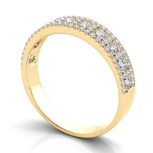 14k Gold & Diamond Wedding Ring