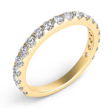 3/4 Diamond Wedding Band in 14k Gold