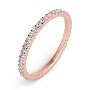 Diamond Eternity Band in 14k Gold
