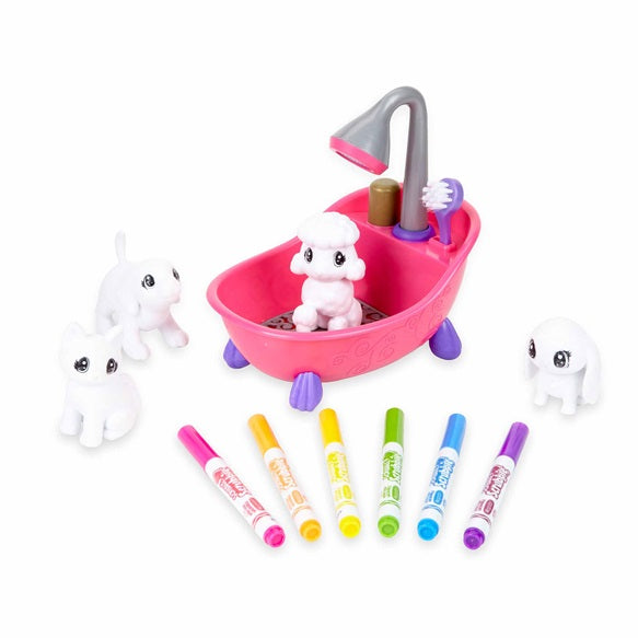 CRAYOLA SCRIBBLE SCRUBBIES BATH SET
