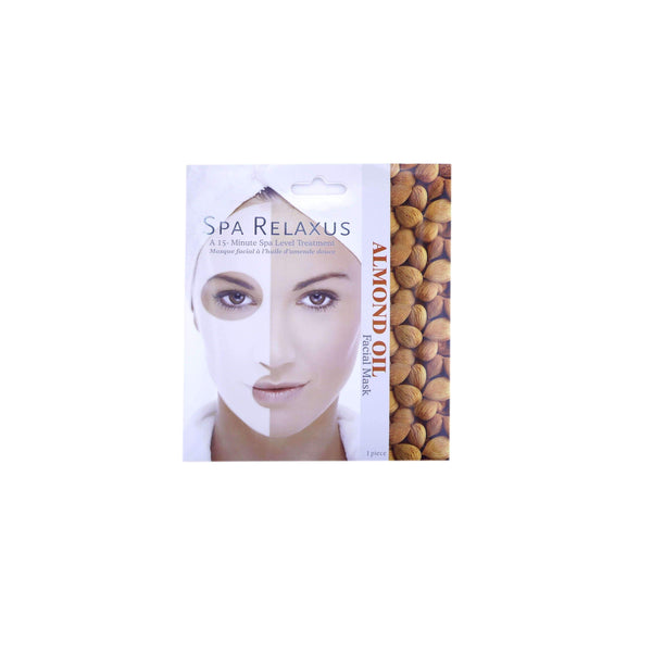 SPA RELAXUS ALMOND OIL FACIAL MASK, HEALTH AND BEAUTY, Styles For Home Garden & Living, Styles For Home Garden & Living