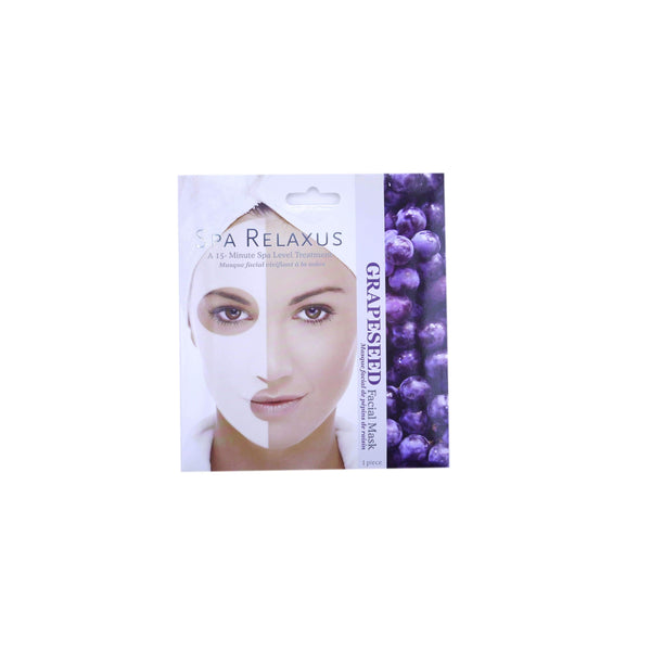 SPA RELAXUS GRAPESEED TOINING FACIAL MASK, HEALTH AND BEAUTY, Styles For Home Garden & Living, Styles For Home Garden and Living