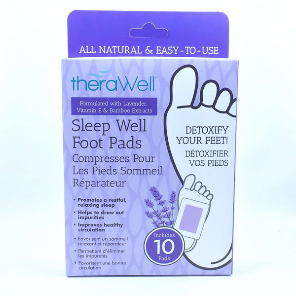 THERAWELL SLEEP WELL  FOOT PADS, HEALTH AND BEAUTY, Styles For Home Garden & Living, Styles For Home Garden and Living