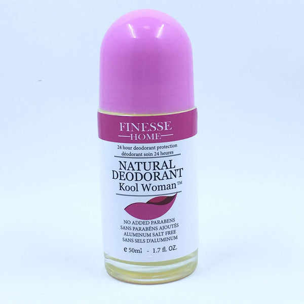 FINESSE HOME NATURAL DEODORANT KOOL WOMAN, HEALTH AND BEAUTY, Styles For Home Garden & Living, Styles For Home Garden & Living