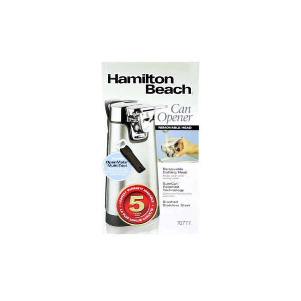 HAMILTON BEACH TALL CAN OPENER WITH REMOVABLE HEAD, APPLIANCES, Styles For Home Garden & Living, Styles For Home Garden and Living