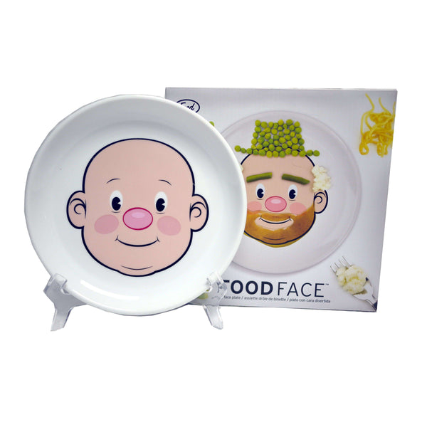 MR FOOD FACE PLATE, GIFTWARE, Styles For Home Garden & Living, Styles For Home Garden and Living