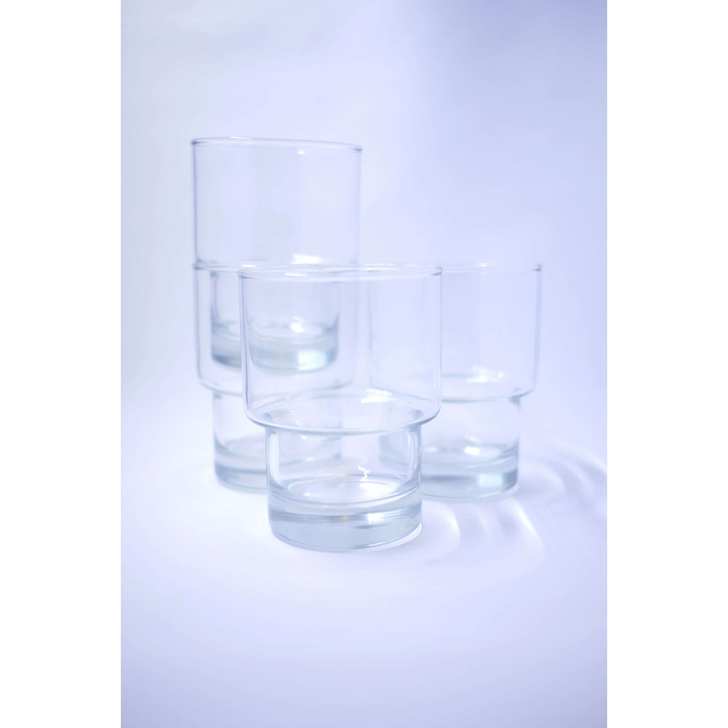 LUMINARC BERGEN 4PC STACKABLE TUMBLERS 10.5OZ, KITCHEN, Styles For Home Garden & Living, Styles For Home Garden & Living