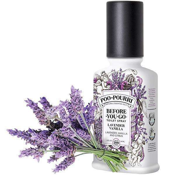 POO-POURRI 8OZ LAVENDER VANILLA, BED AND BATH, Styles For Home Garden & Living, Styles For Home Garden and Living