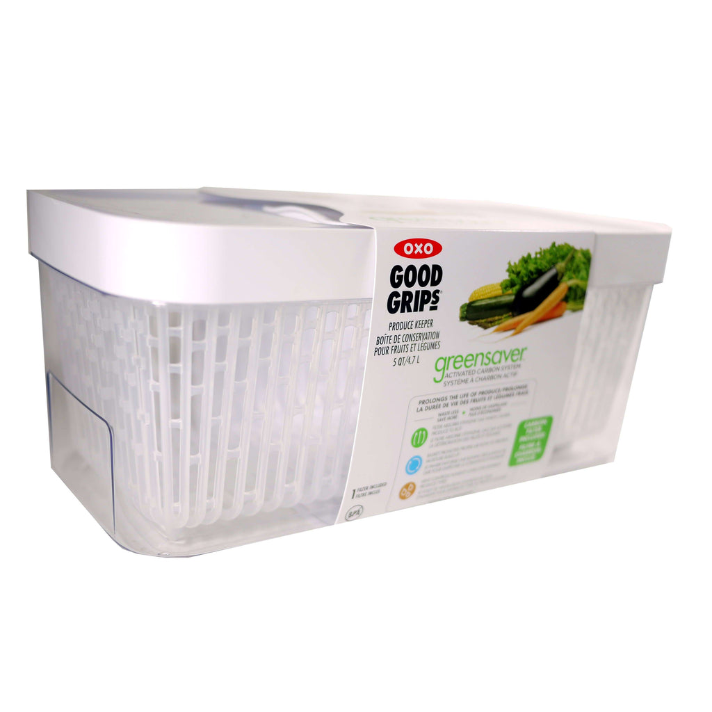 OXO GOOD GRIPS 5QT GREENSAVER, KITCHEN, Styles For Home Garden & Living, Styles For Home Garden & Living