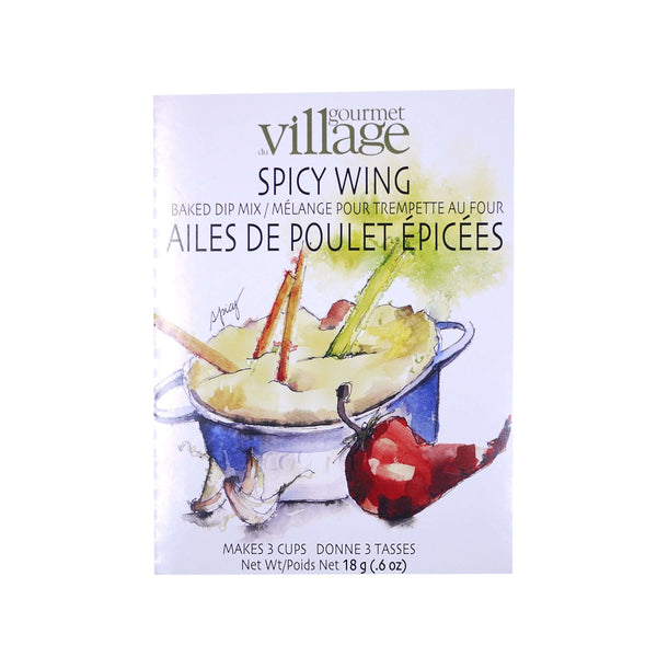 GOURMET VILLAGE RECIPE BOX SPICY WING DIP, FOOD, Styles For Home Garden & Living, Styles For Home Garden & Living