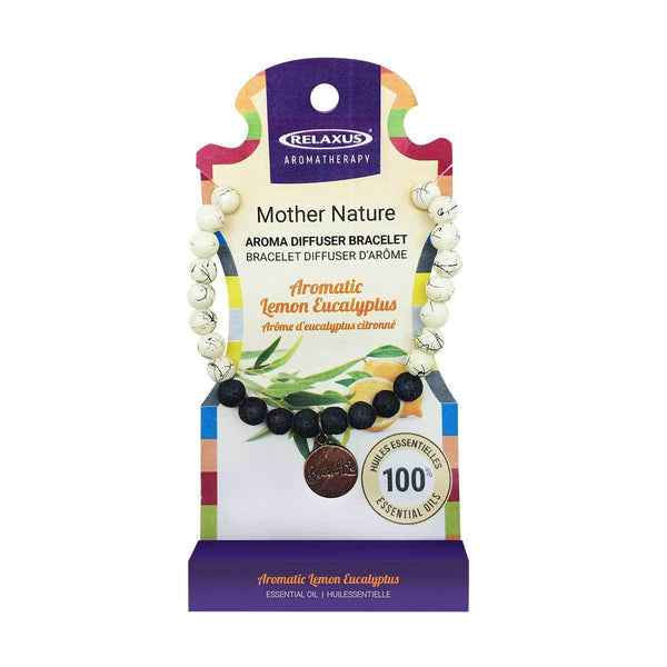 MOTHER NATURE DIFUSER BRACELET LEMON EUCALYPTUS