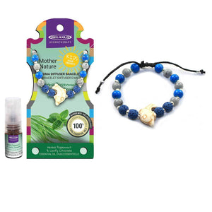 MOTHER NATURE KIDS PEPPERMINT CITRONELLA AROMATHERAPY BRACELET